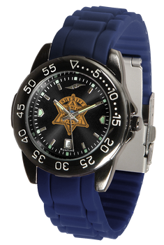 Miami Sheriff Fantom Silicone Watch - Black