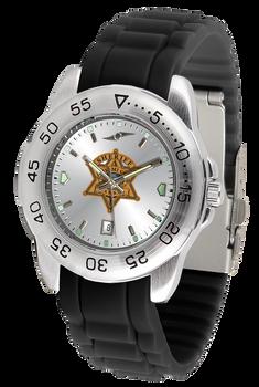 Miami Sheriff Fantom Silicone Watch - Silver