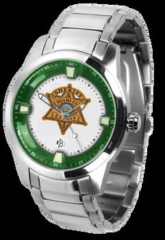 Miami Sheriff Titan Steel Watch