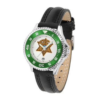 Miami Sheriff Competitor Ladies Leather Watch