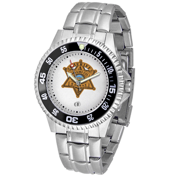 Miami Sheriff Competitor Mens Steel Watch