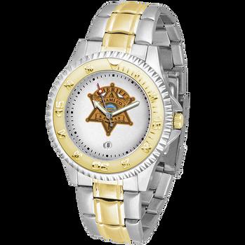 Miami Sheriff Competitor Mens Two-Tone Watch