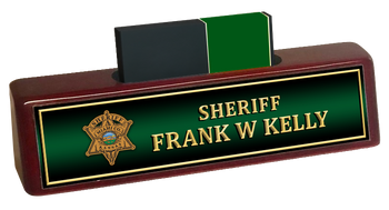 Miami Sheriff BUSINESS CARD HOLDER