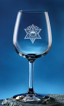 Miami Sheriff Tasters Wine Glass