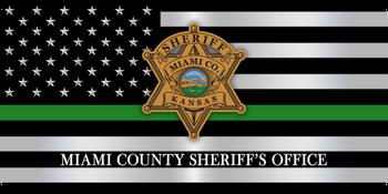 Miami Sheriff LICENSE PLATE