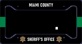 Miami Sheriff LICENSE PLATE FRAME