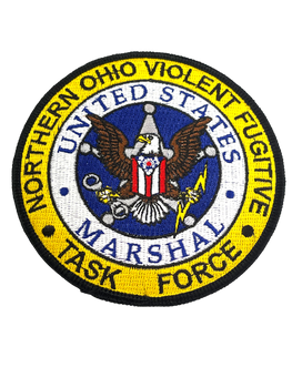 US MARSHAL NORTHERN OHIO VIOLENT TASK FORCE PATCH RARE