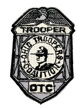 OHIO TROOPERS COALITION PATCH RARE