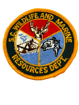 SOUTH CAROLINA WILDLIFE & MARINE REASOURCES SC PATCH