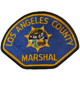 LOS ANGELES COUNTY CA MARSHAL PATCH