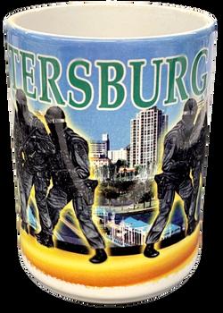 ST. PETERSBURG POLICE  MUG FREE SHIPPING