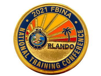 MOTOROLA NATIONAL FBINA 2021 CONFERENCE ORLANDO COIN