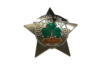 CHICAGO POLICE IRISH BADGE
