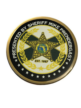 CITRUS CTY SHERIFF FL BOMB TEAM COIN