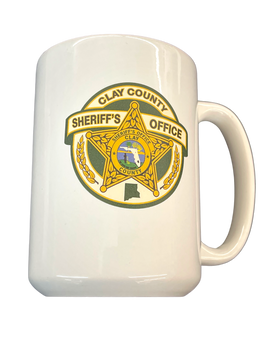 CLAY COUNTY SHERIFF EL GRANDE 15 OZ MUG