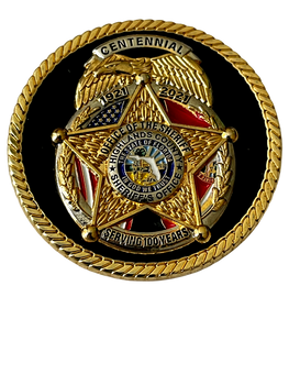 HIGHLANDS COUNTY SHERIFF 100TH ANNIVERSARY COIN