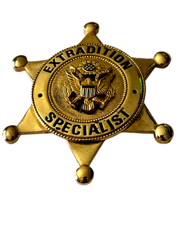 EXTRADITION SPECIALIST BADGE
