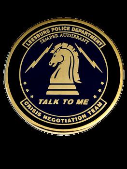 LEESBURG POLICE CRISIS NEGOTITATION TEAM COIN