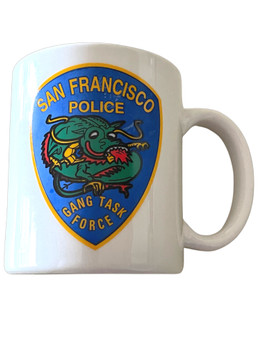 ASIAN GANG SAN FRANCISCO CALIFORNIA POLICE MUG