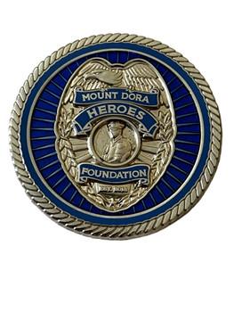 MT DORA POLICE COIN K-9