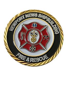 ST. FLORIAN COIN NEWPORT NEWS FIRE & RESCUE