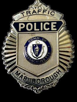 MARLBOROUGH POLICE MASS. TRAFFIC BADGE