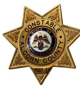 ALCORN COUNTY CONSTABLE MISSISSIPPI STAR BADGE