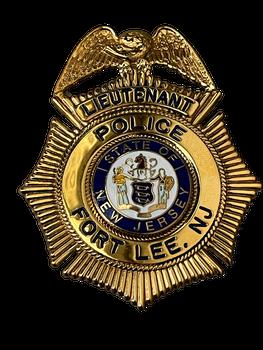 FORT LEE POLICE NEW JERSEY LIEUTENANT BADGE