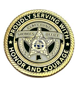 CLAY SHERIFF FL COIN K-9