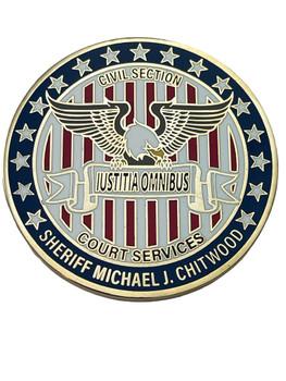 VOLUSIA SHERIFF FL CIVIL COURT SECURITY COIN