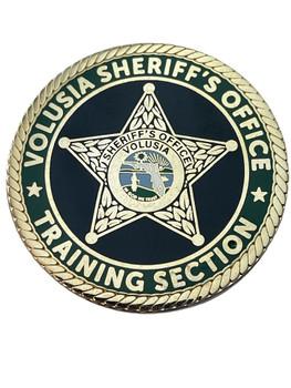 VOLUSIA SHERIFF FL CIVIL TRAINING COIN