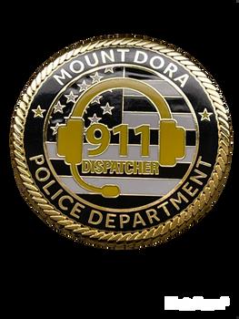 MT DORA POLICE FL COIN DISPATCH