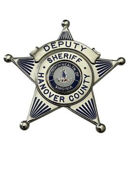 DEPUTY SHERIFF HANOVER COUNTY STAR BADGE VA