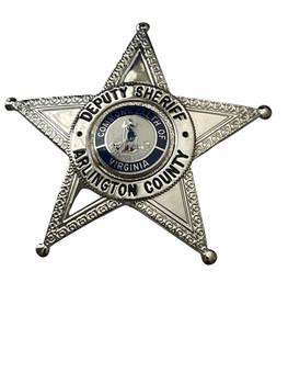 DEPUTY SHERIFF ARLINGTON COUNTY STAR BADGE VA