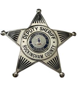 DEPUTY SHERIFF ROCKINGHAM  COUNTY  STAR BADGE VA