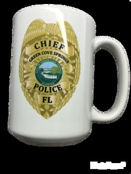 GREEN COVE SPRINGS POLICE MUG FLORIDA