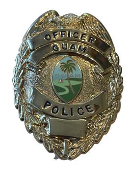 GUAM POLICE OFFICER  BADGE