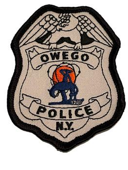 OWEGO NY POLICE BADGE PATCH