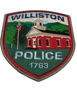 WILLISTON POLICE VT PATCH RARE