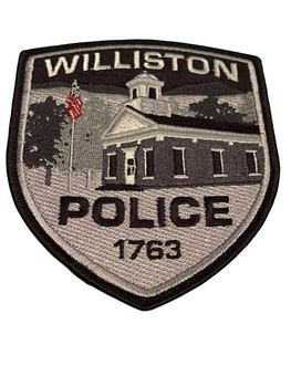 WILLISTON POLICE VT PATCH SUBDUED RARE