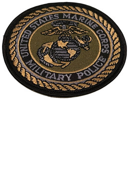 MARINE CORPS MILITARY  POLICE PATCH
