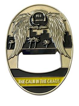 LAPD 911 BOTTLE OPENER COIN