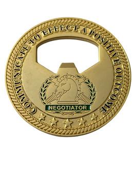 FL HOSTAGE NEGOTIATORS BOTTLE OPENER COIN