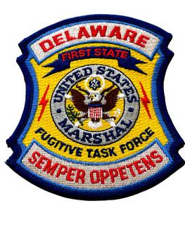 U.S. MARSHALS SERVICE DELAWARE FUGITIVE TASK FORCE PATCH