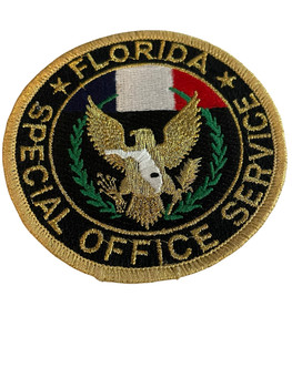 FLORIDA SPECIAL OFFICE SERVICE PATCH