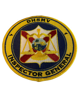 FLORIDA DHSMV INSPECTOR GENERAL  PATCH RARE