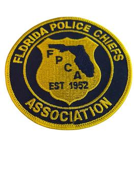 FLORIDA POLICE CHIEFS ASSOCIATION   PATCH