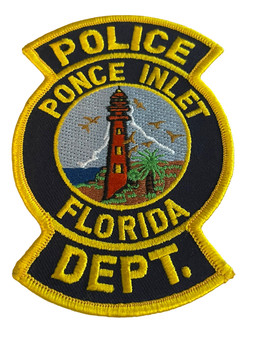 PONCE INLET POLICE FL PATCH