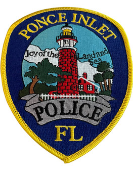PONCE INLET POLICE FL PATCH 2