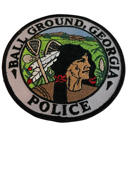 BALL GROUND POLICE GA PATCH